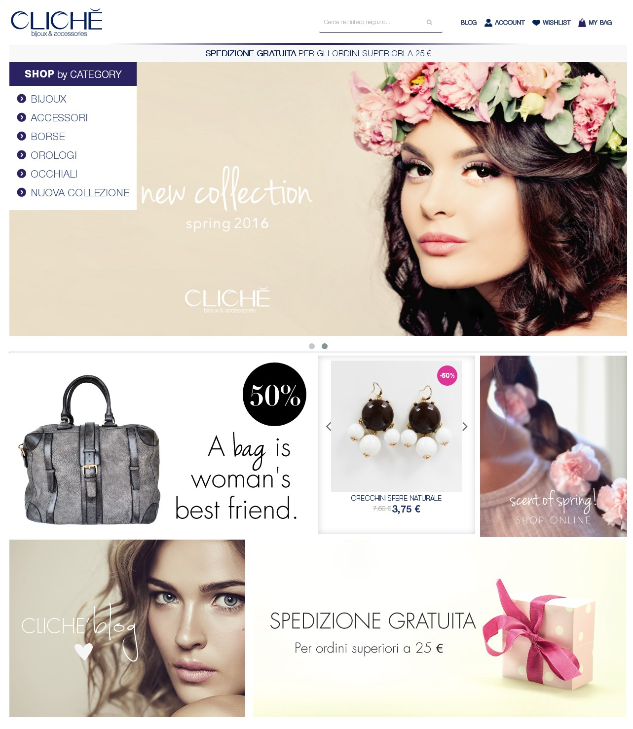 clicheshoponline.it, un e- commerce di successo
