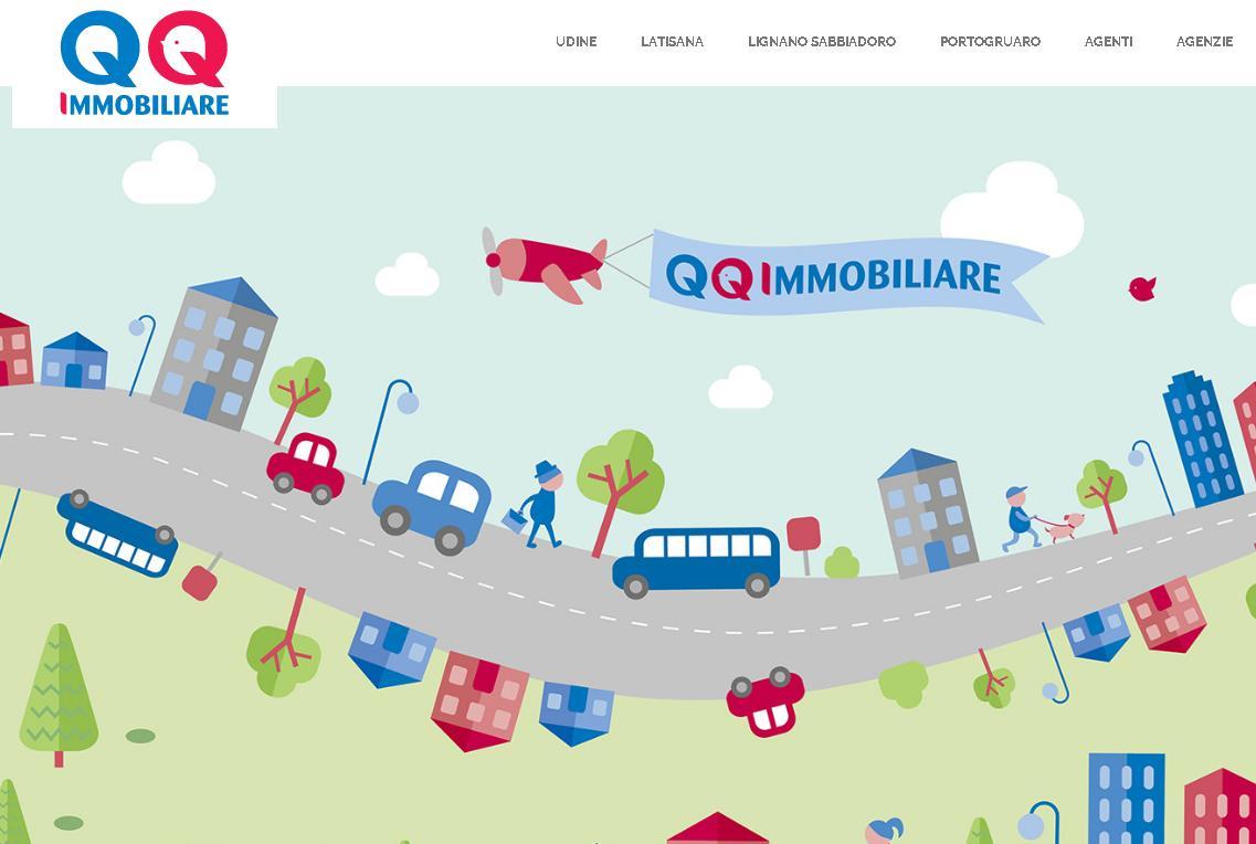 qqmmobiliare.it, il sito dell'agenzia immobiliare del Triveneto!