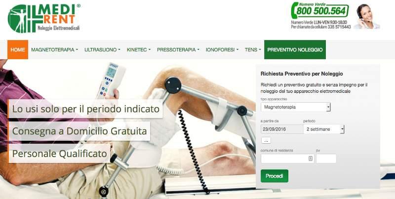Medirent.it, il sito che conviene per noleggiare elettromedicali a Roma