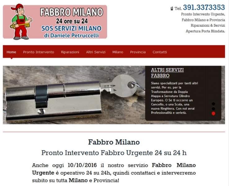 fabbro-a-milano.it, per il Pronto Intervento Fabbro a Milano