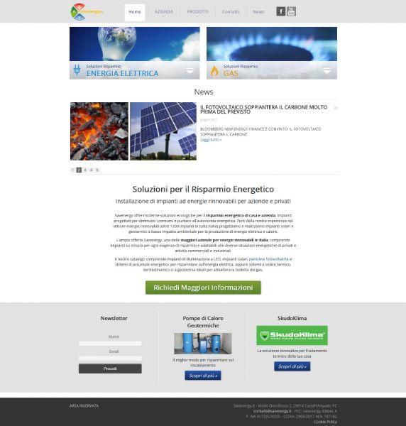 Savenergy.it, il nuovo sito web sul risparmio energetico