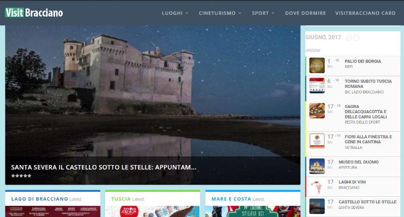 VisitBracciano: portale turistico di… Bracciano?