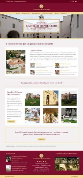 Il Castello di Policoro: location per ricevimenti in provincia di Matera