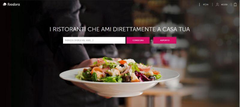 foodora.it, il sito per ordinare pranzo e cena con consegna a domicilio