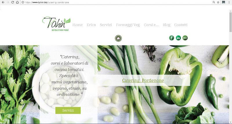 tahin.bio, il sito di Tahin RevolutinFood per servizi di catering di alta qualità