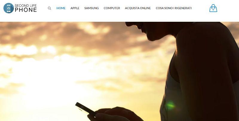 secondlifephone.it, vendita di smartphone rigenerati delle migliori marche