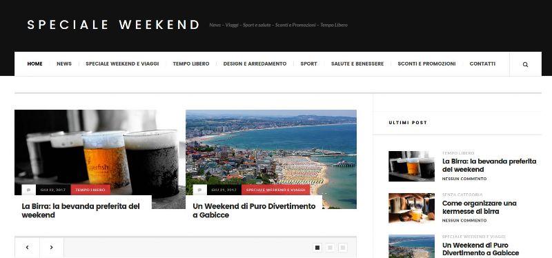 SpecialeWeekend.com: tante idee per il fine settimana