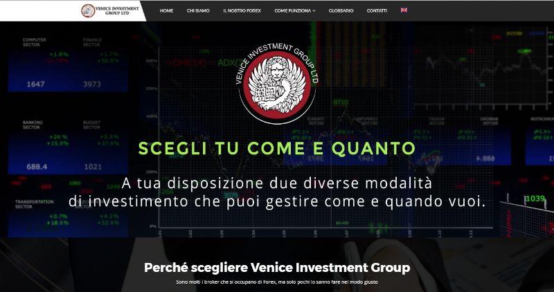 Veniceinvestmentgroup.com: Il sito per affidare il tuo trading agli esperti e fare investimenti intelligenti
