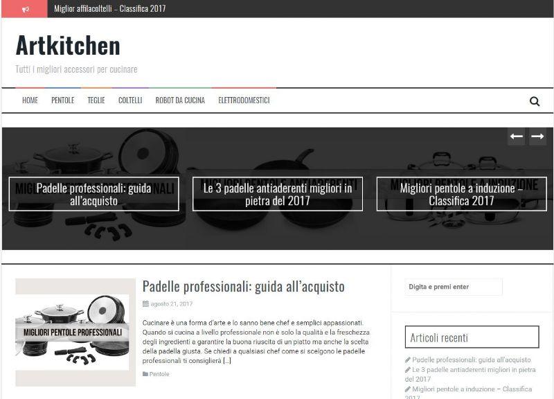 """artkitchen.it, il sito che """"stravolge"""" la cucina"""