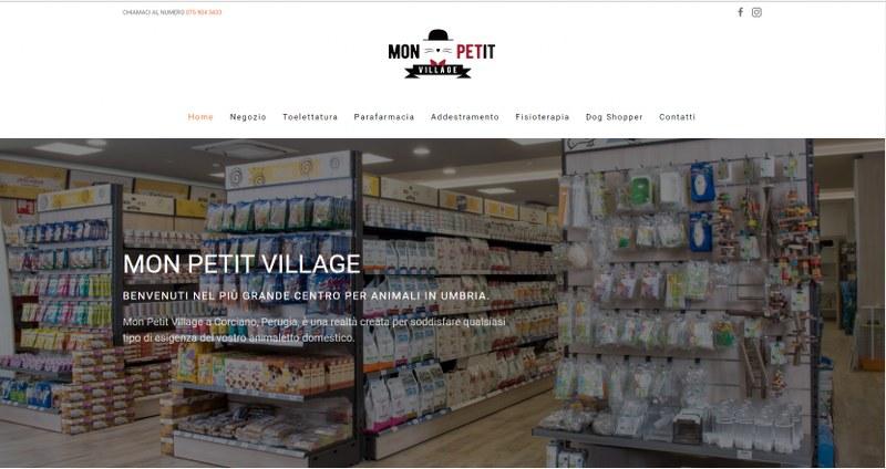 Monpetitvillage.it: il sito del più grande centro per animali in Umbria