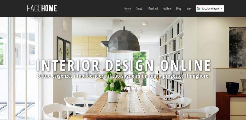 FaceHome, Interior design online per arredare casa
