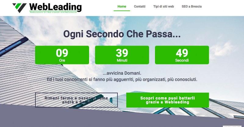 WebLeading, per la realizzazione di siti web a Brescia sotto una nuova veste