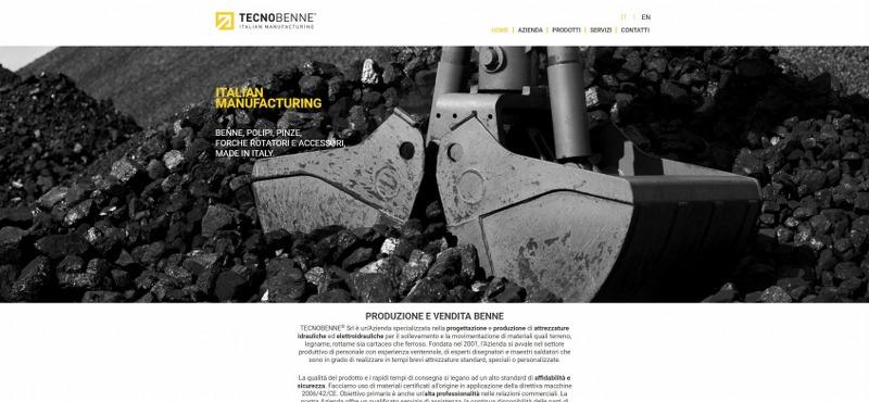 Tecnobenne – Azienda produttrice di benne, pinze e polipi idraulici