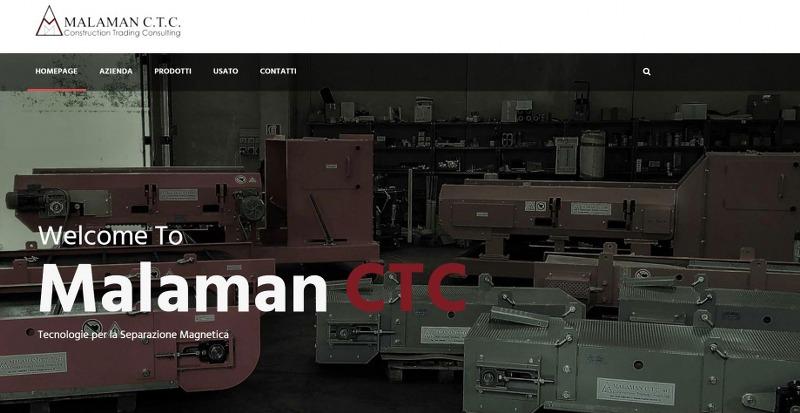 Malaman CTC, produzione e vendita macchinari per la separazione magnetica