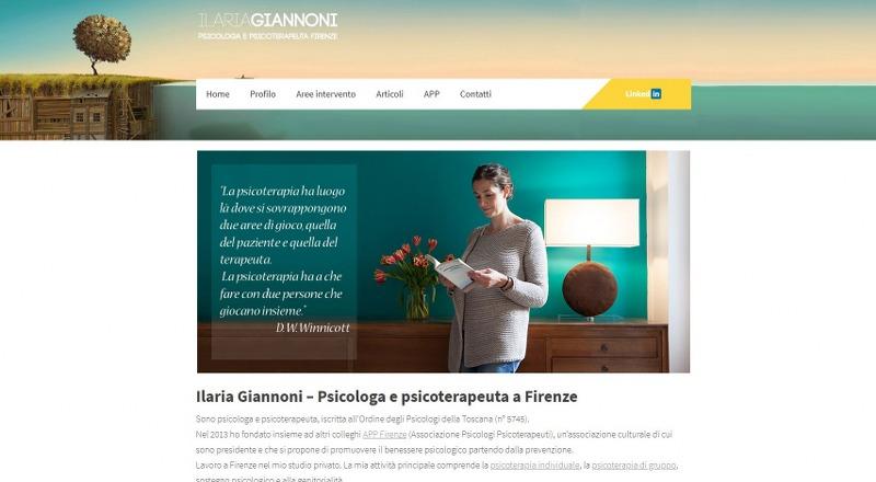 Ilariagiannoni.it – Ilaria Giannoni psicologa e psicoterapeuta a Firenze