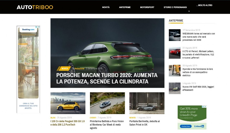 Autotriboo.it, Istinto Automotive