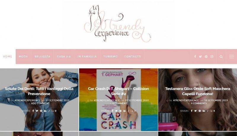 ATrendyExperience.com: lifestyle blog per famiglie di tendenza