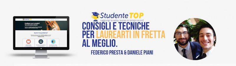Studentetop.it il blog per gli studenti universitari e il loro metodo di studio