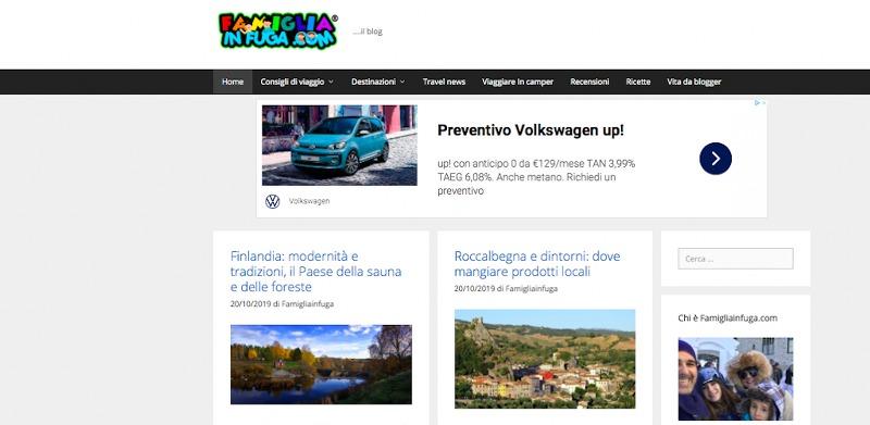 Famigliainfuga.com: il blog per le famiglie che viaggiano