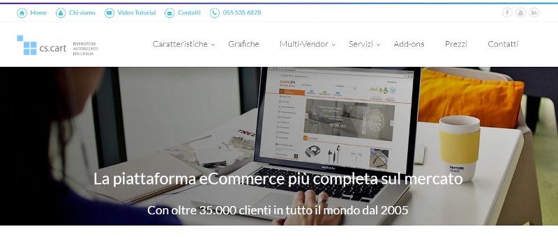 CS-Cart.it la piattaforma eCommerce più completa sul mercato