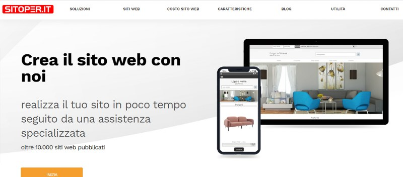 SitoPer.it siti web fai da te software online e software in cloud
