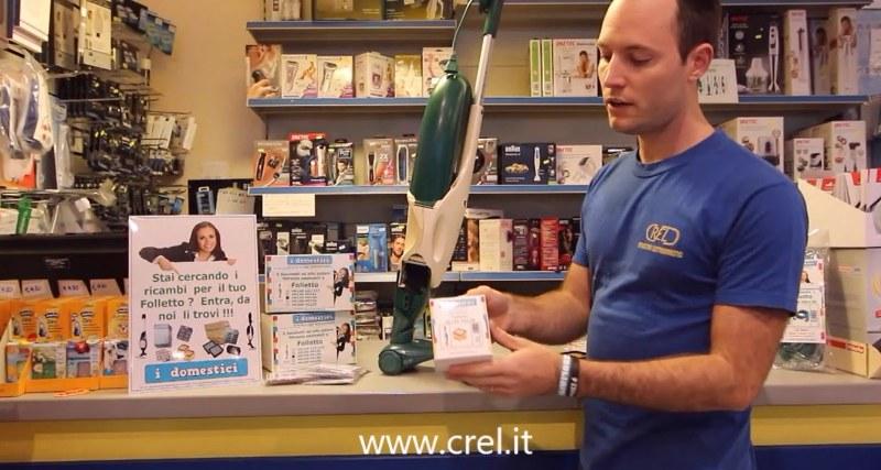 Crel.it l'e-commerce di ricambi per piccoli elettrodomestici che vende in tutta Europa