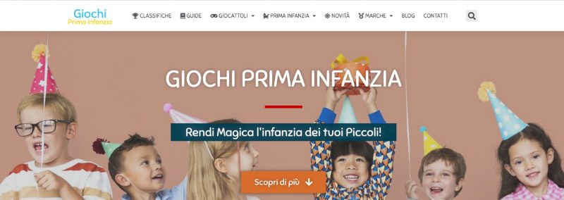 Giochiprimainfanzia.it, il Blog per Neogenitori