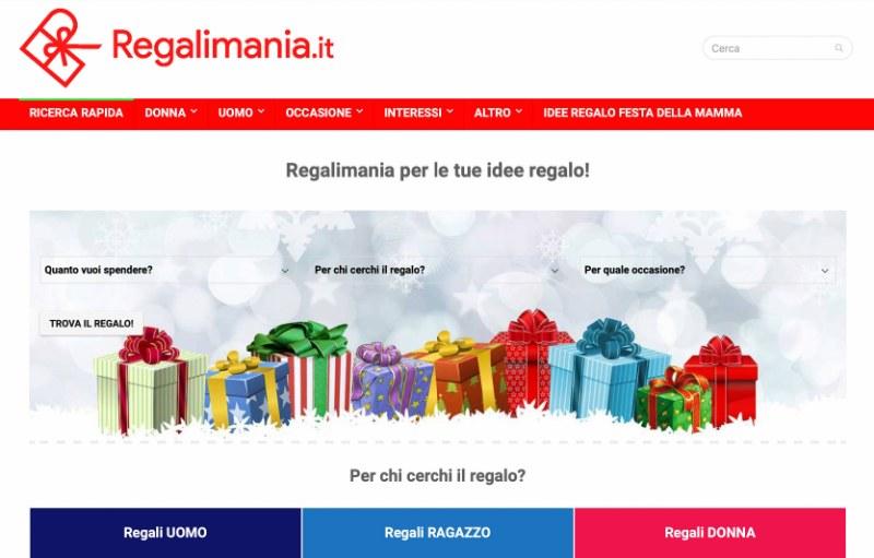 Regalimania: un sito per tutti