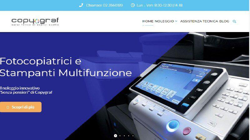 Copygraf.it: noleggio stampanti per eventi o smart working