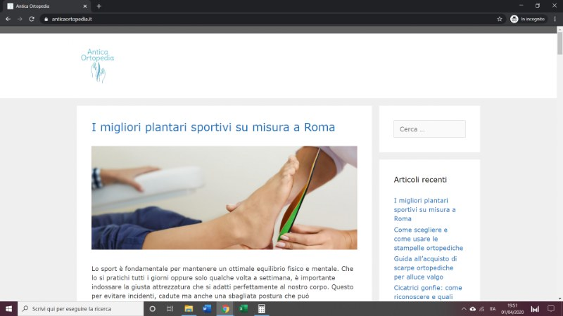 Anticaortopedia.it, il Blog dell'ortopedia sanitaria