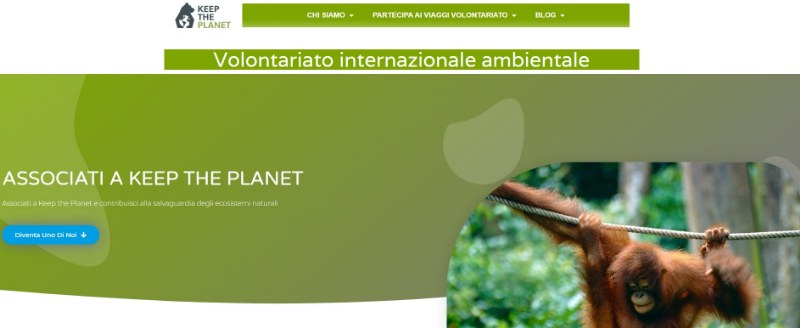 Keep the Planet: il sito per il volontariato ambientale