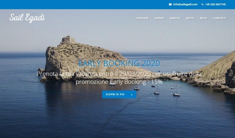 SailEgadi.com, per un viaggio in barca a vela indimenticabile
