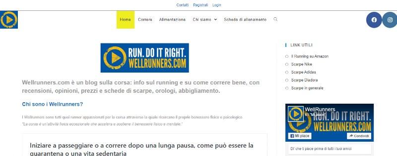 Wellrunners.com, il blog di chi ama correre