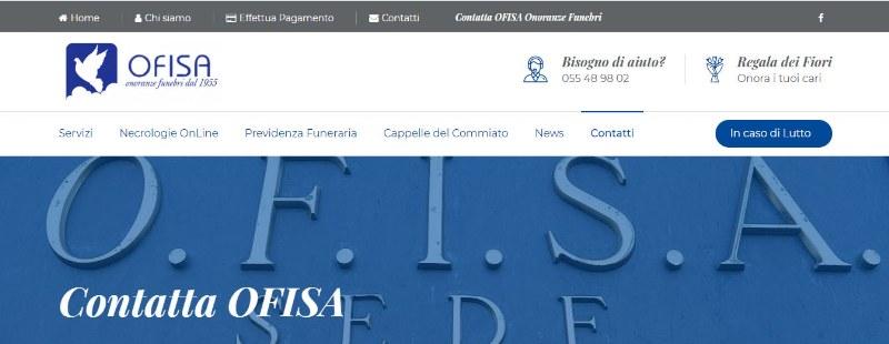 Ofisa.it le onoranze funebri toscane a Firenze